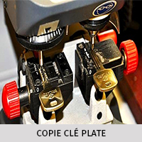 COPIE CLE PLATE
